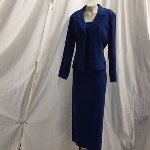 Jessica Howard size 14 Royal Blue dress/jacket